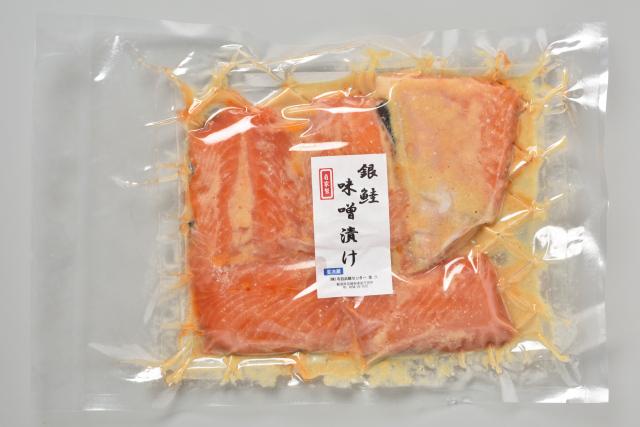 【きんぱち自家製】銀鮭の味噌漬け(約80g×5切入り)
