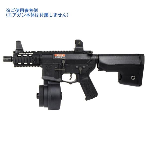 ARES 電動M4用 2150連 ドラムマガジン(手動給弾式) ブラック