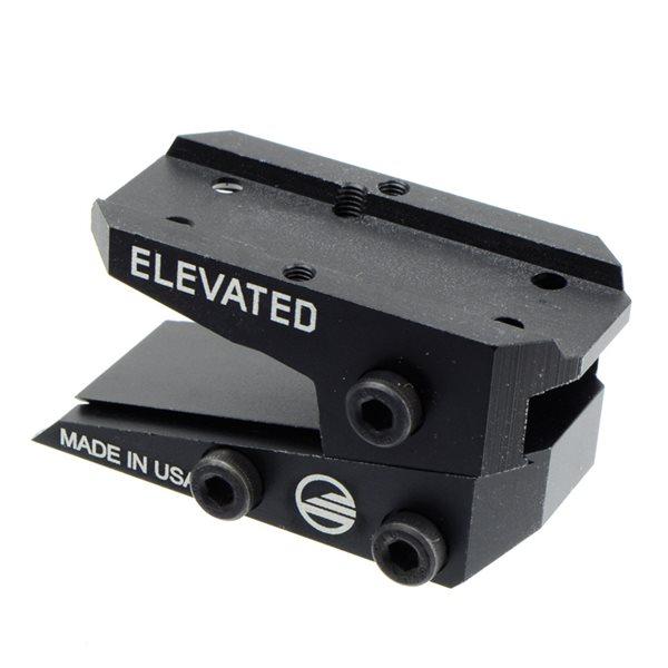 ETタイプ エレベーテッド スライド マウント  T1 T2 RMR用 ブラック