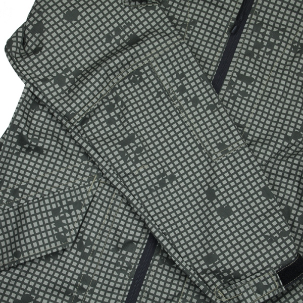 TMC ナイトカモ 迷彩 フード付 ジャケット