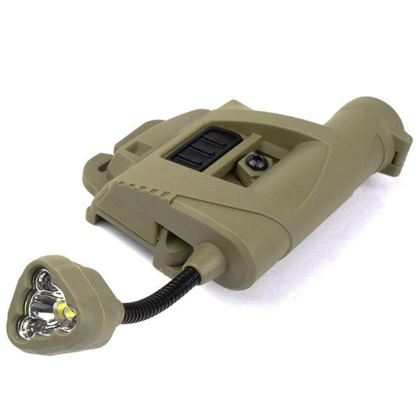 【SALE】SOTAC Charge Mpls タイプ ヘルメットライト デザートカラー