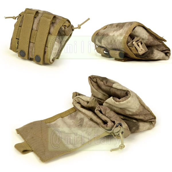 FLYYE MOLLE Folding Magazine DropPouch A-TACS