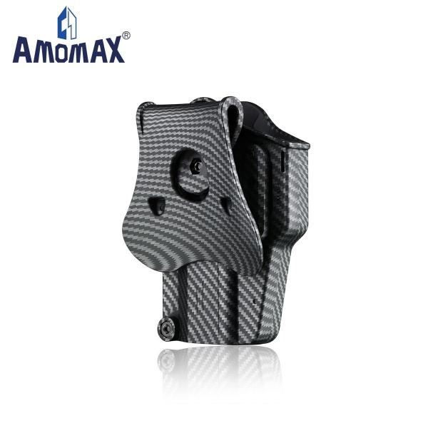 AMOMAX Per-Fit ユニバーサルホルスター 右用 カーボンブラックカラー