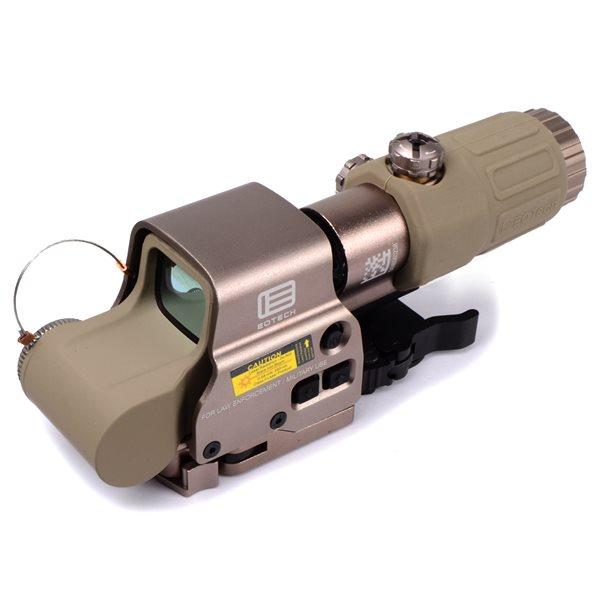 EoTech XPS-3 タイプ ドットサイト & G33-STS タイプ 3倍ブースター セット NEWマーキングver デザートカラー