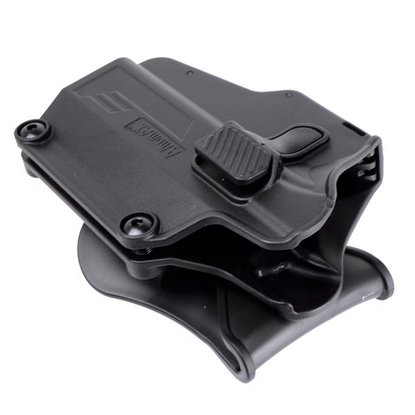 AMOMAX Per-Fit ユニバーサルホルスター 右用 ブラック