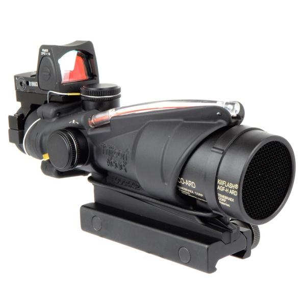 ARROW OPTICS ACOG TA31タイプ 4倍スコープ (集光式 レティクル) +RMRタイプドットサイト