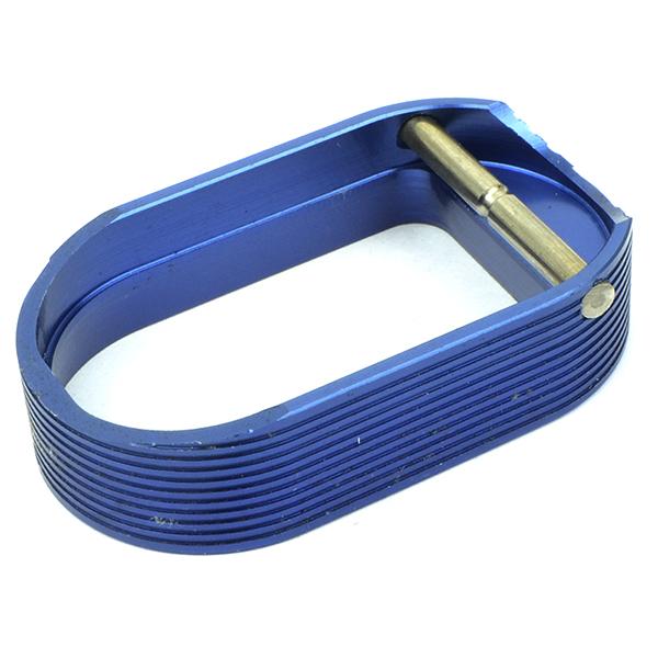 5KU HOT SHOT Style マグウェル マルイ ハイキャパ用 ブルー