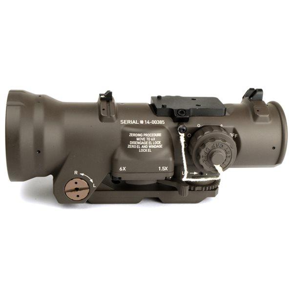 ARROW OPTICS  ELCAN Specter DR 7.62 タイプ 1.5-6x 可変倍率 スコープ デザートカラー