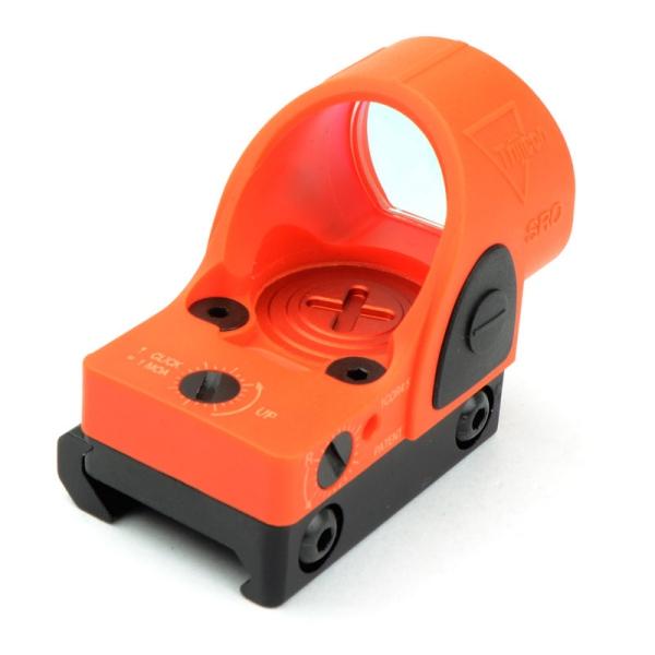 SOTAC ナイロン製 SROタイプ コンパクトドットサイト グロック用マウント付き オレンジ