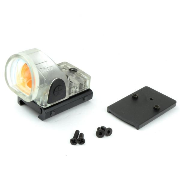 SOTAC ナイロン製 SROタイプ コンパクトドットサイト グロック用マウント付き スケルトンカラー