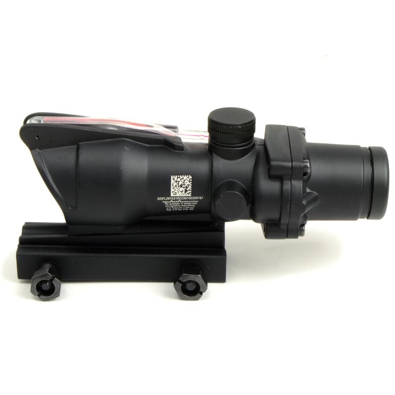 ARROW DYNAMIC (アローダイナミック) ACOG TA31タイプ 集光式 レティクル レッド発光 4倍スコープ (電池不要タイプ)