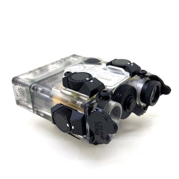 【SALE】SOTAC-GEAR ナイロン製 DBAL-A2 - AN/PEQ-15A  タイプ LEDライト スケルトンカラー