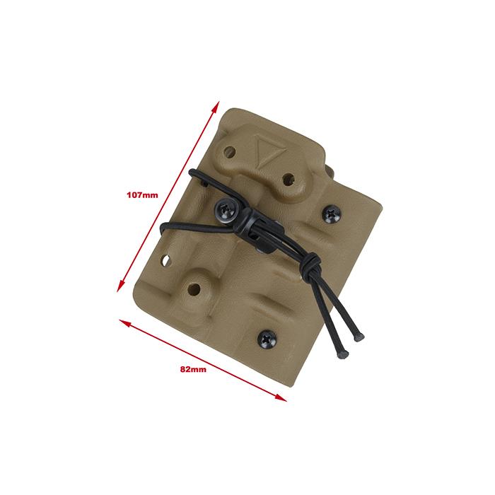 Kydex ホルスター for TM M870 Breacher  [ベルトクリップ式] デザートカラー