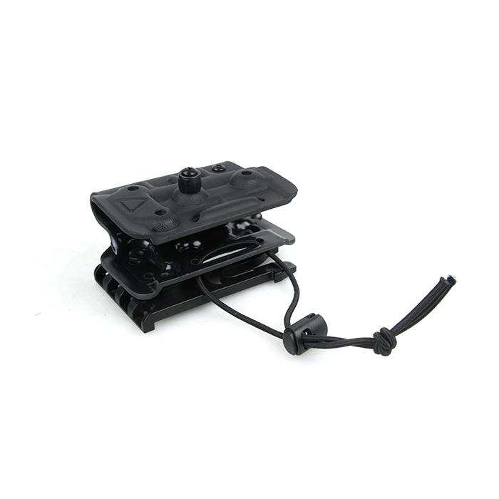 Kydex ホルスター for TM M870 Breacher  [クイックロック ホルスター フォーク式] ブラック