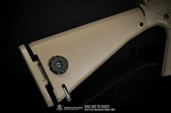 VFC KAC M110 SASS ガスブローバック (Knight's Licensed)  デザートカラー