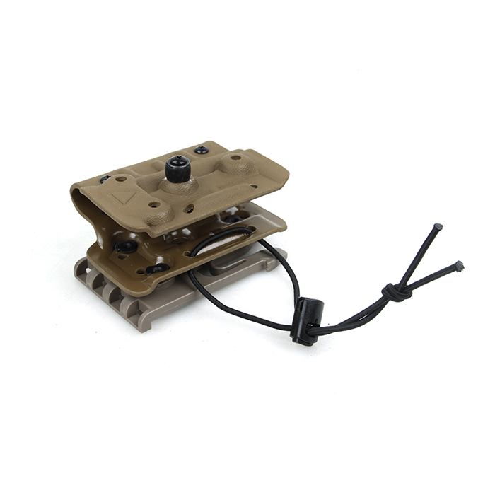 Kydex ホルスター for TM M870 Breacher  [クイックロック ホルスター フォーク式] デザートカラー