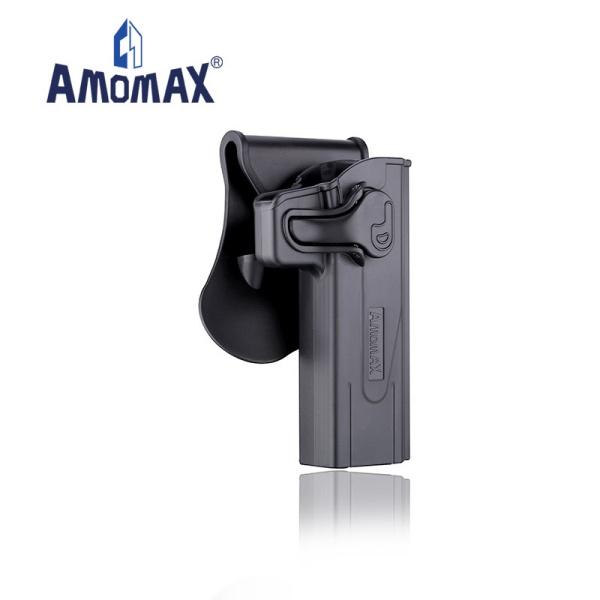 AMOMAX ポリマー ホルスター for STI Hi-Capa 2011 ブラック
