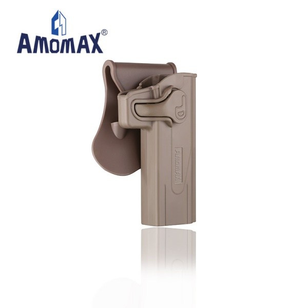 AMOMAX ポリマー ホルスター for STI Hi-Capa 2011 デザートカラー