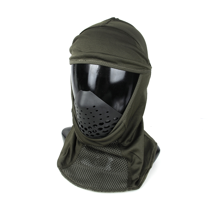 TMC ライトウエイト メッシュ バラクラバ マスクパッド付き レンジャーグリーン