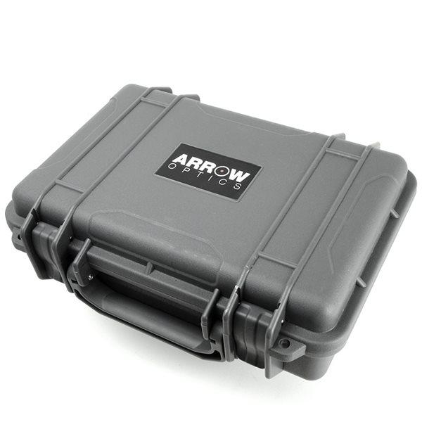 ARROW OPTICS プロテクター ハードケース グレー