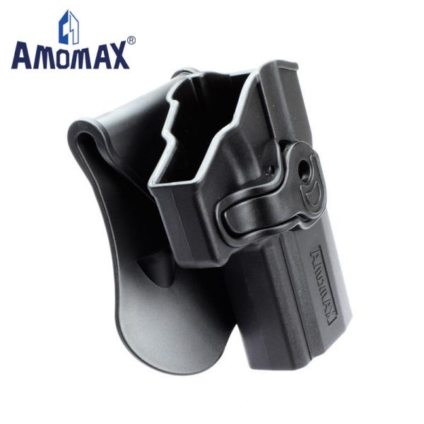 AMOMAX ポリマー ホルスター for SIG P320  ブラック