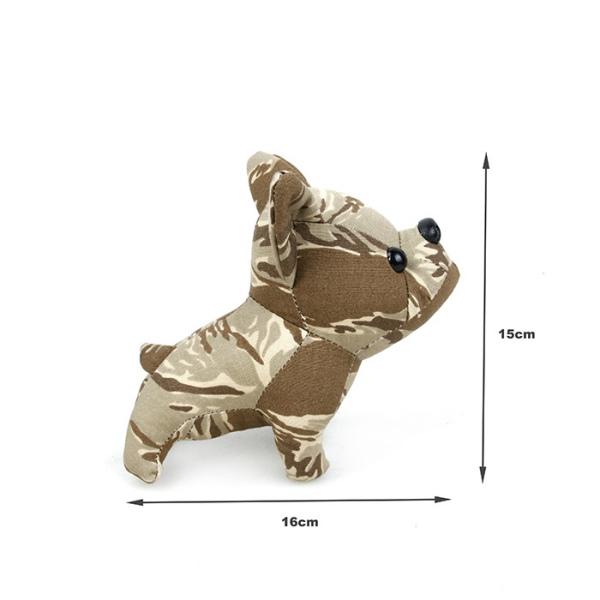 TMC 迷彩パターン 犬 わんちゃん ぬいぐるみ サンドタイガーストライプ スモールサイズ