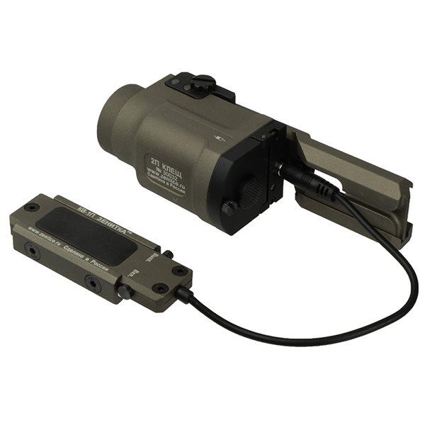 【SALE】SOTAC ZENIT 2P-KLESH タイプ フラッシュライト、B-9AK タイプ レール 、KV-1P タイプ リモートスイッチ セット デザートカラー