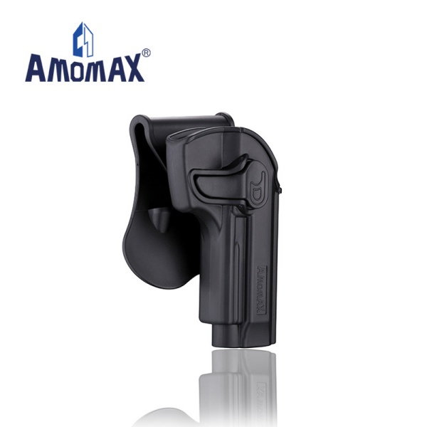 AMOMAX ポリマー ホルスター for ベレッタ 92 ブラック