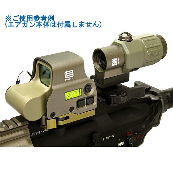 【SALE】SOTAC EXPS3-0 タイプ ドットサイト 現行刻印モデル & G33 STS タイプ 3X マグニファイア セット デザートカラー