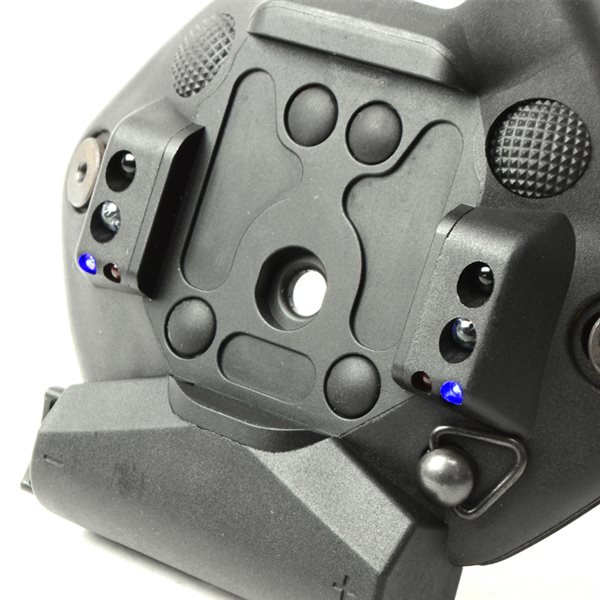 SOTAC Norotos タイプ ユニバーサル シュラウド ライト付き ヘルメット マウント ブラック