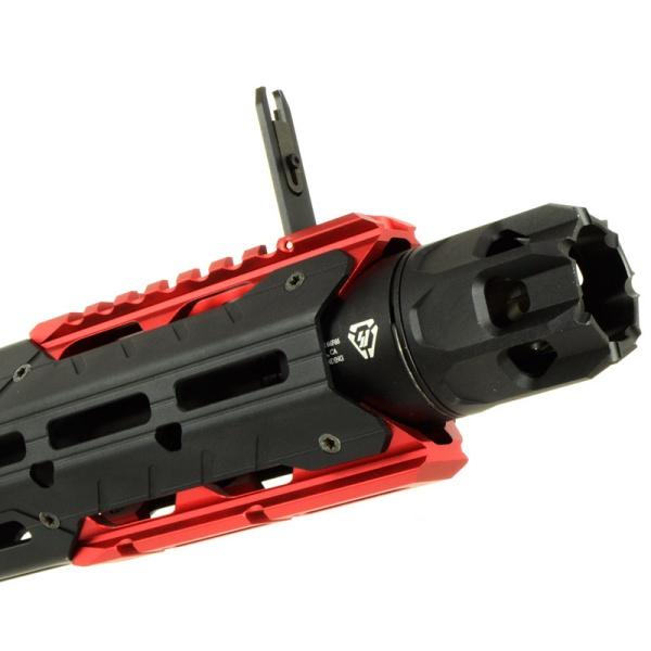 E&C 338E STRIKE GRIDLOK SBR 電子トリガー搭載 電動ガン レッド