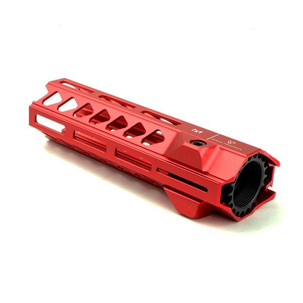 5KU SIタイプ 7インチ M-LOK ハンドガード レッド