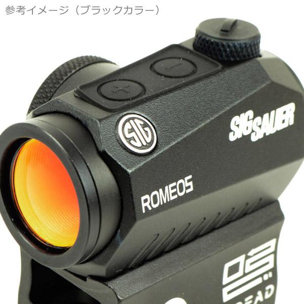 SIG SAUER ROMEO5タイプ コンパクト レッドドットサイト デザートカラー