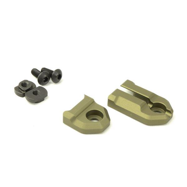 SOTAC Tough Tactical Tools タイプ M-LOK テープスイッチマウントプレート SFタイプ用 デザートカラー