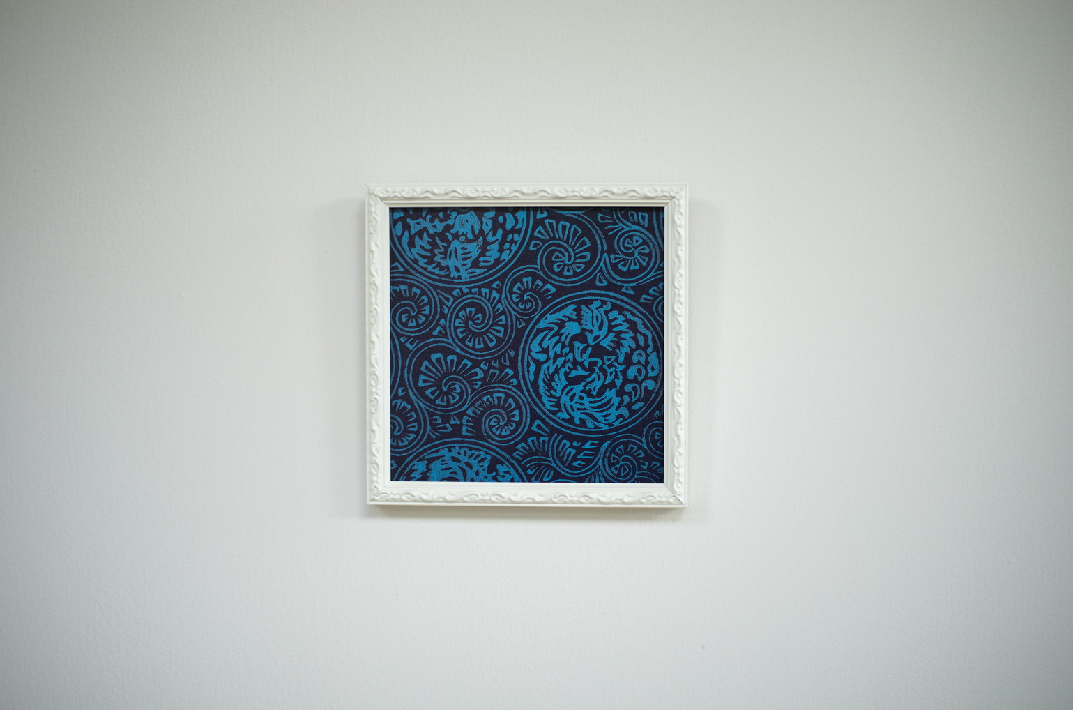 kira額(アートパネル)/鳳凰丸唐草(0113)