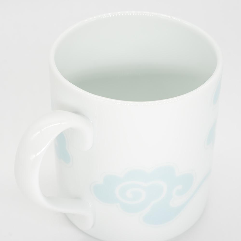 [KIRA KARACHO × Noritake]天平大雲 マグカップ (水色)