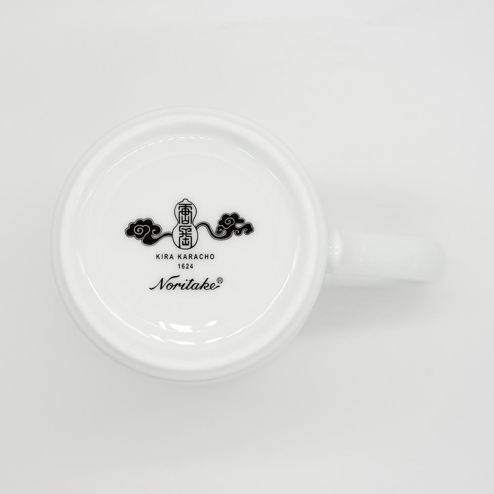 [KIRA KARACHO × Noritake]南蛮七宝 マグカップ (ベージュ)