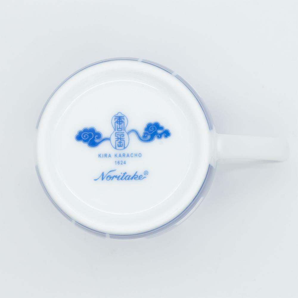 [KIRA KARACHO × Noritake]角つなぎ マグカップ