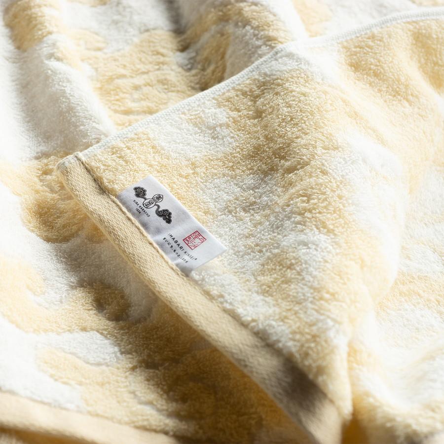 今治謹製 雲母唐長タオル 木箱入り ロングフェイスタオル2枚・コンパクトバスタオル2枚