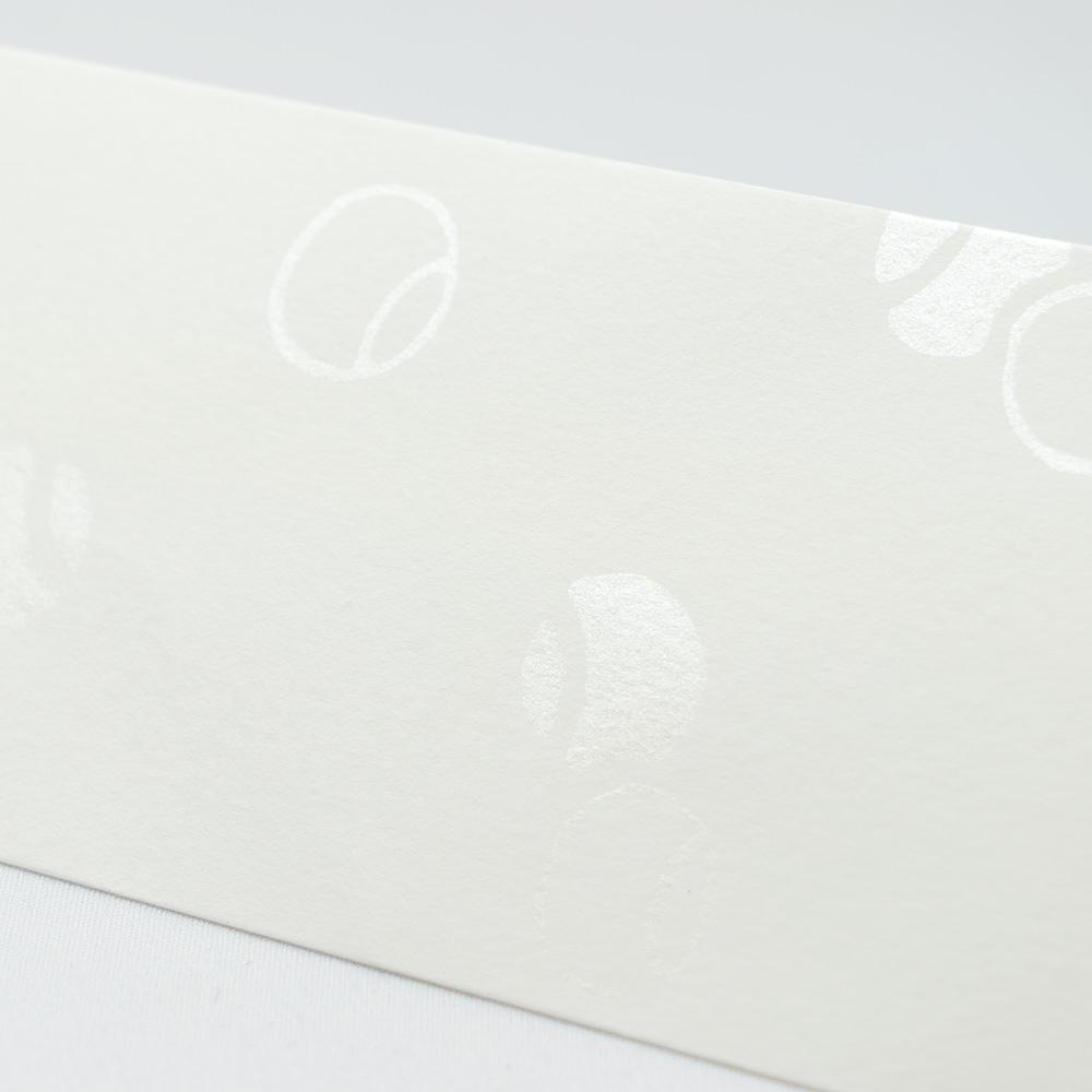 唐長文様 キラのし袋 つぼつぼ(ホワイト)
