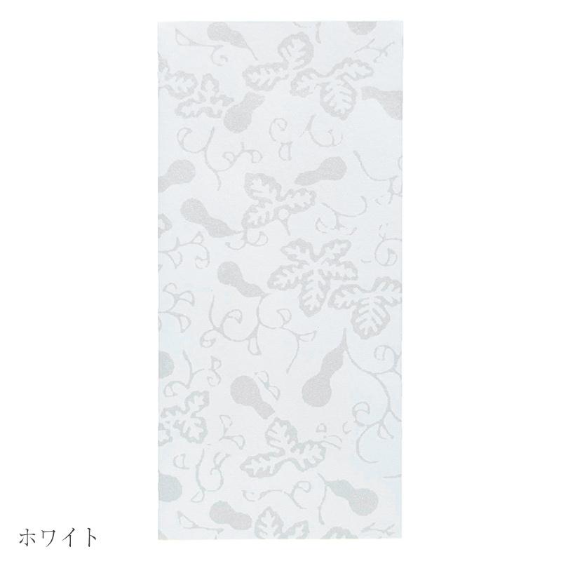 唐長文様 キラのし袋 瓢箪唐草(ホワイト)