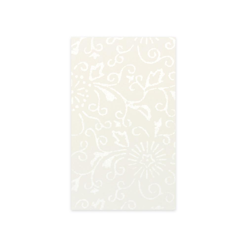 唐長文様名刺/菊唐草(ホワイト)箱入