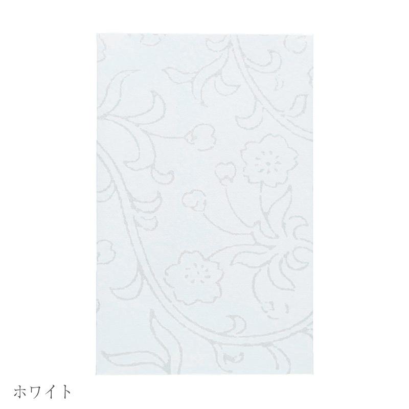 唐長文様 キラぽち袋 桜草唐草(ホワイト)