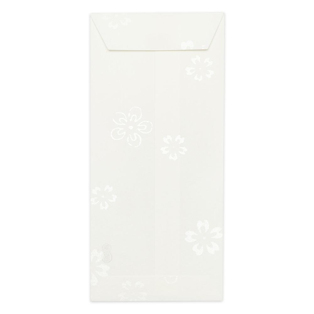 唐長文様 キラのし袋 梅桜(ホワイト)