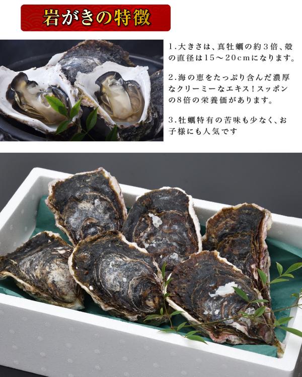 日本海産岩がき「岩がき/約2kg」超冷 【送料無料】 岩ガキ 岩牡蠣
