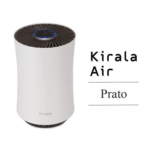 Kirala Air(キララエアー) ハイブリッド空気清浄機 Prato(プラット) / オゾン空間除菌 8畳 ホワイト