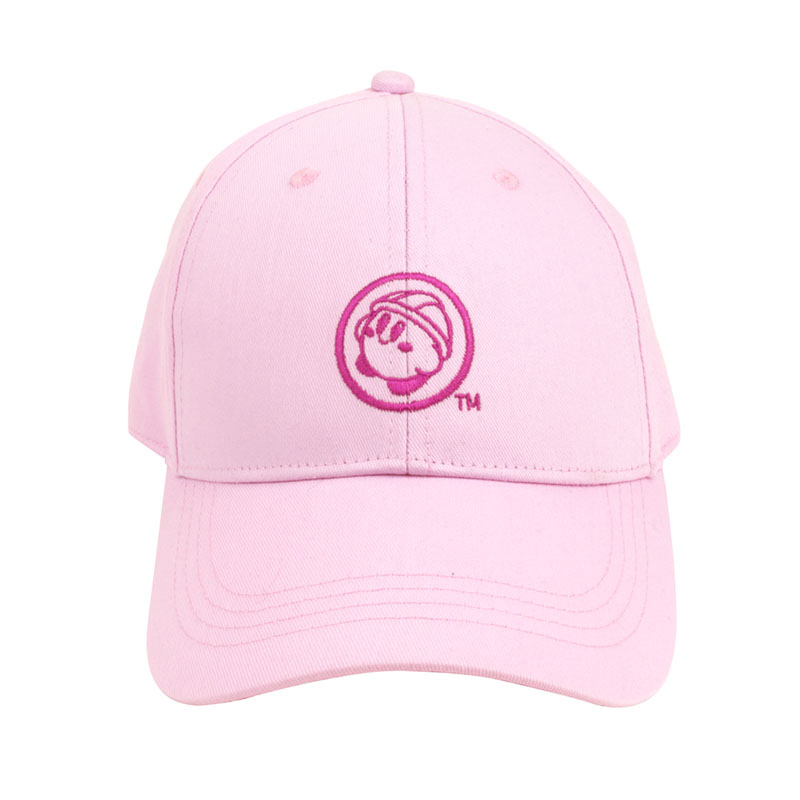 KIRBY's DREAM FACTORY 刺繍キャップ ピンク