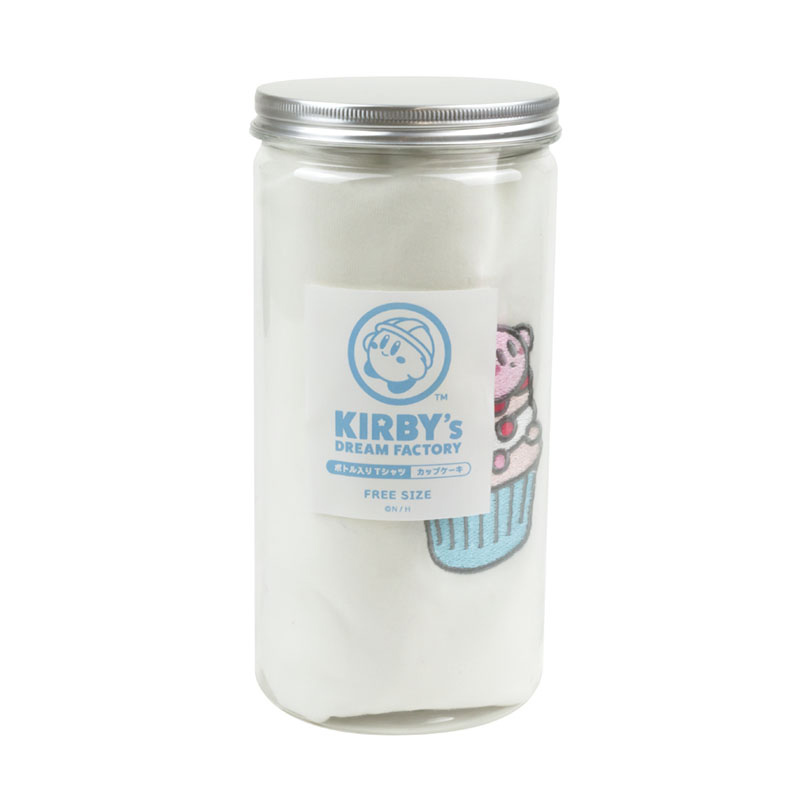 KIRBY's DREAM FACTORY ボトル入りTシャツ カップケーキ