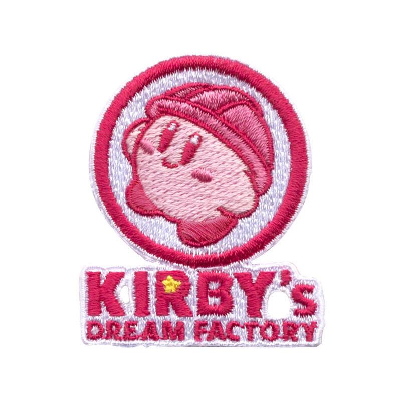 KIRBY's DREAM FACTORY 刺繍ワッペン ロゴ