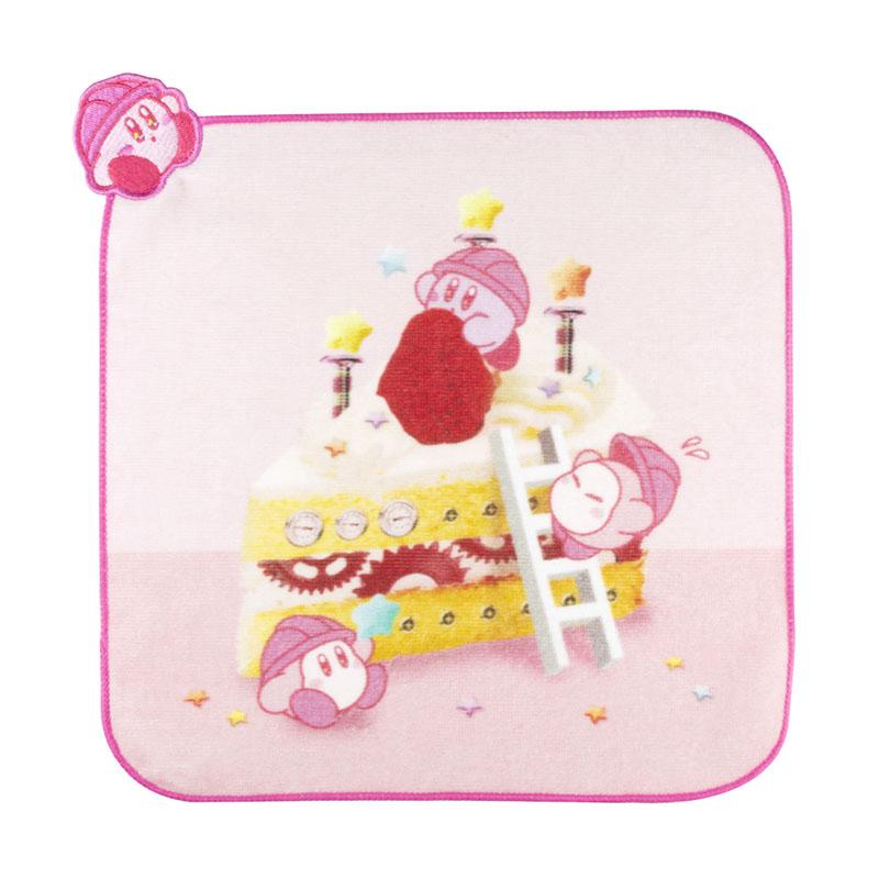 KIRBY's DREAM FACTORY カップケーキ型ミニタオル ケーキ